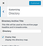 Directory settings
